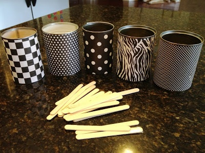 sight word sticks. 10 centers with Popsicle stick cans!