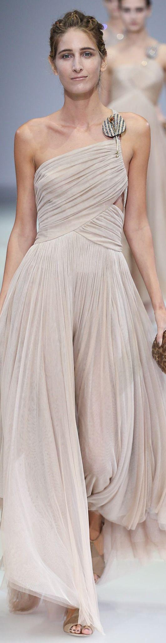Giorgio Armani Collection Spring 2015   The House of Beccaria~