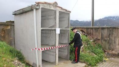 Anche le tombe sono abusive  Foto  sequestrate a Godrano 16 cappelle