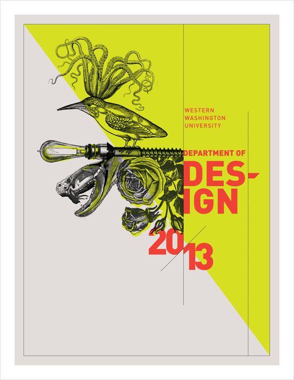 Senior Brand / Western Wash. University Design Program by Tiffany Hsu, via Behance