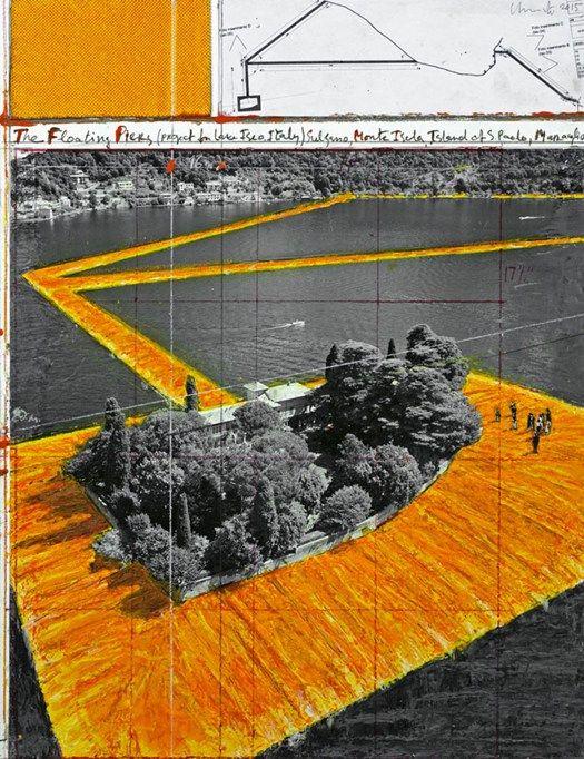 The Floating Piers è il nome del nuovo progetto dell'artista Christo in Italia, con il quale reinterpreterà il Lago d'Iseo