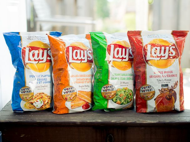 New Flavoured Lays Chips