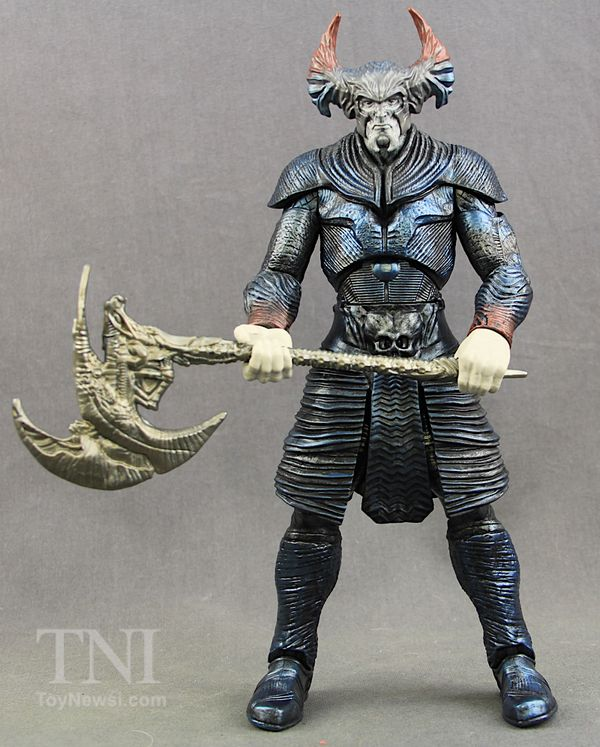 """Justice League Movie 6"""" DC Comics Multiverse Steppenwolf Collect-And-Connect Figure Review & Image Gallery"""