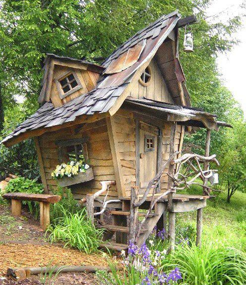.: Idea, Tree Houses, Treehouse, Garden, Fairytale, Playhouse, Kid