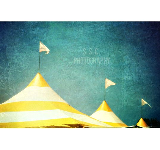 Carnival photography. Circus tents. stripes. by SSCphotography, $28.00