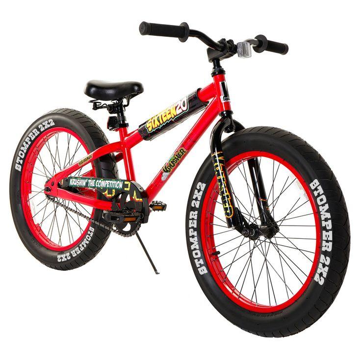 Krusher 20 in. Boys Sixteen/20 Bike - 810757