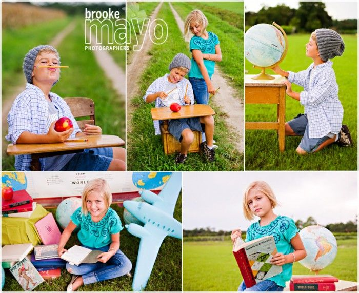 Back To School Portrait Party on http://brookemayoblog.com