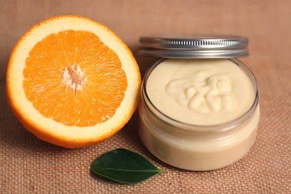 Selbstgemachte Orangen-Körperbutter / Homemande Orange Whipped Body Butter