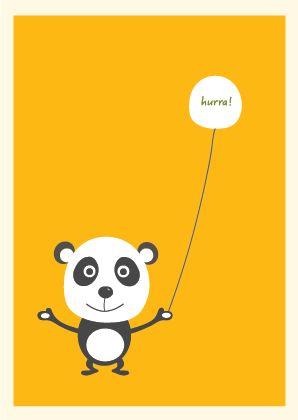 Hurra Panda http://www.barneplakat.no