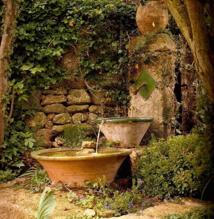 17 best images about water features on pinterest gardens - Como decorar mi jardin ...