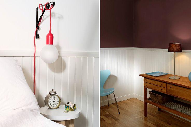 Våra panelskivor Alva efterliknar den traditionella pärlsponten. Ett val som passar i de flesta miljöer och stilar. Skivorna skarvas enkelt i varandra och har matchande golvsocklar samt bröstlist.