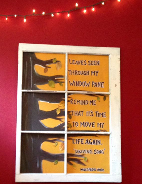 Widespread Panic Driving Song Window Frame by 4theloveofmusic, $175.00