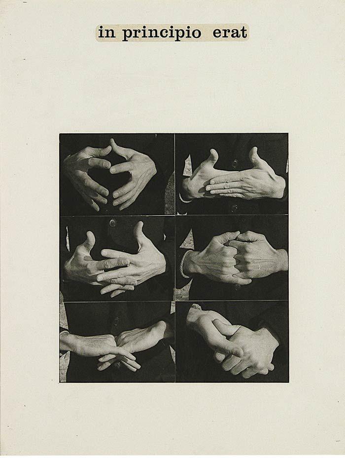 tremendousandsonorouswords:  Ketty La Rocca, In principio erat, 1970