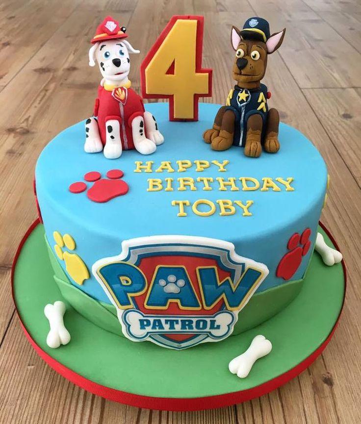 Best 25 Paw Patrol Birthday Cake Ideas On Pinterest Paw