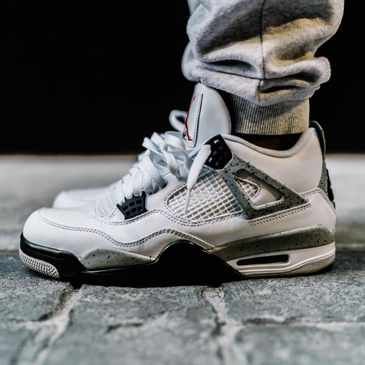 Air Jordan Retro 4 White Cement 2016