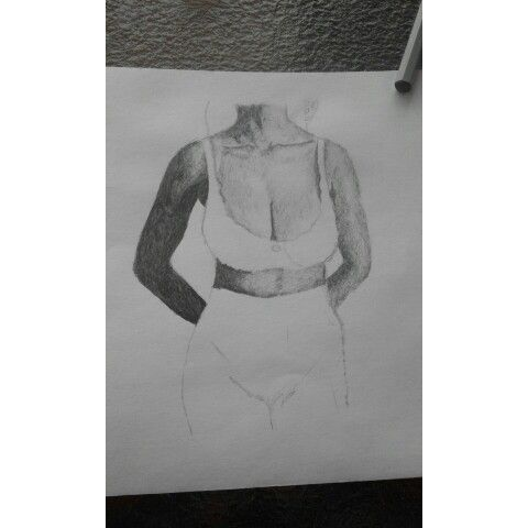 ink on paper ✒  #SouthAfricanArt #ShareTheART  #Nude #FemaleNude #sketchbook #sketch #ink