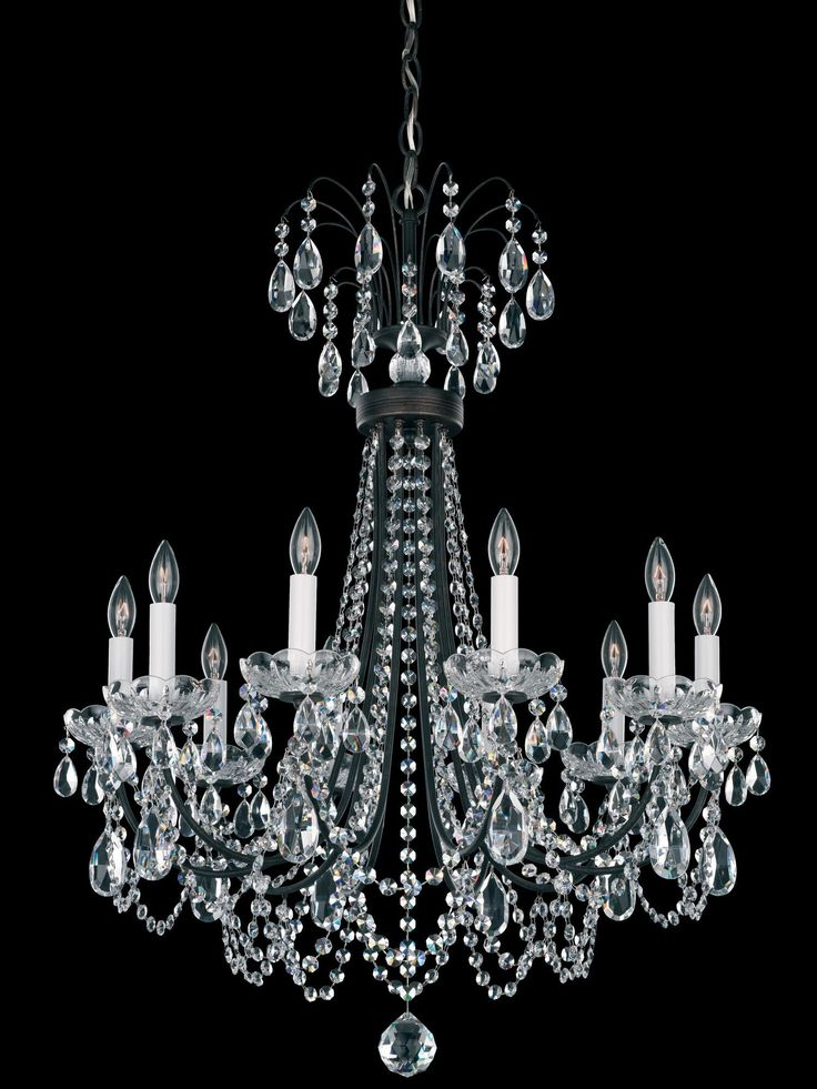 Lucia 10 Light Crystal Chandelier
