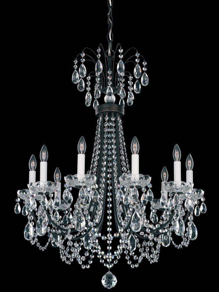 Lucia 10 Light Crystal Chandelier