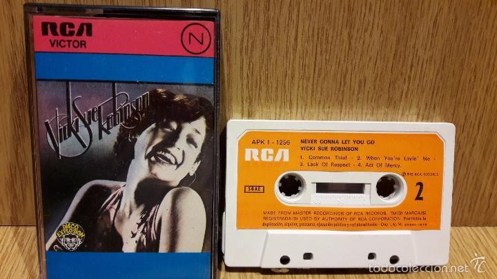 VICKI SUE ROBINSON. NEVER GONNA LET YOU GO-DISCO EXPLOSION. MC / RCA - 1976…