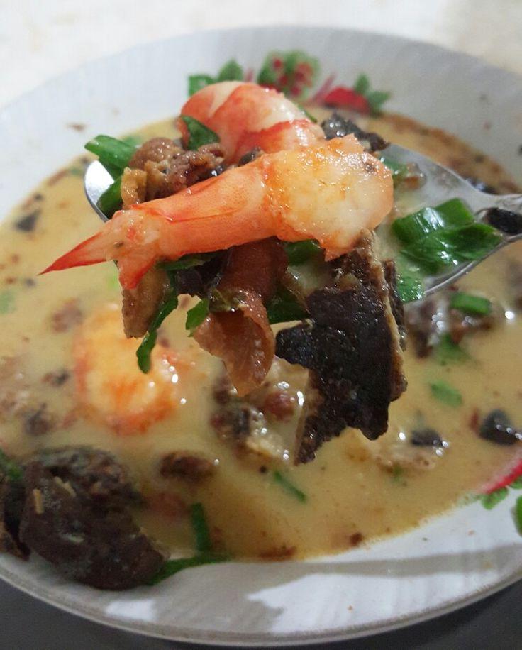 Soto udang paru daging mixed #delicious #soto #food #indonesianfood #shrimp