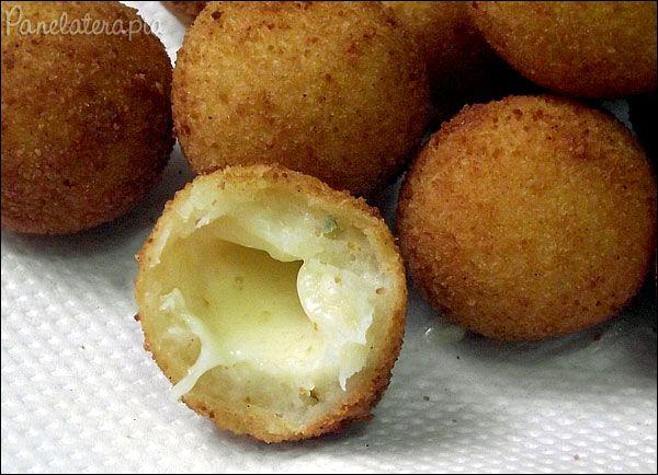 Bolinha de Queijo ~ PANELATERAPIA - Blog de Culinária, Gastronomia e Receitas