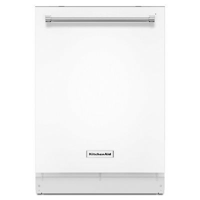 KitchenAid KDTE204E 24-Inch 46 Decibels Built-in Dishwasher Stainless Steel ENERGY STAR