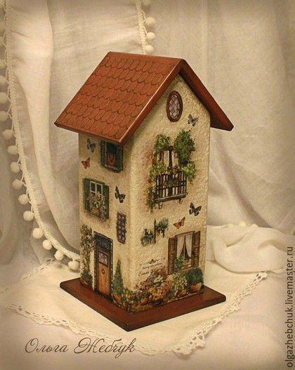 decoupage - tea house