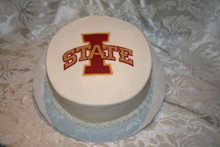 Iowa State Cake Mayra Pinterest Iowa State Iowa And