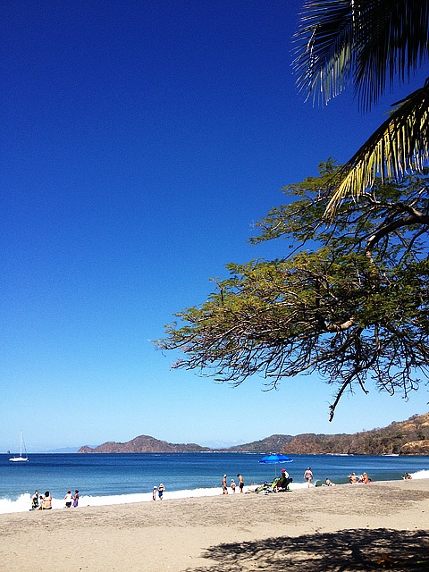 Another perfect summer day at Playa Hermosa, Guanacaste, Costa Rica.