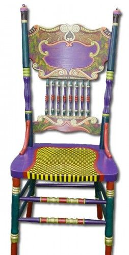 Chairs   One Offs Art & One of Designs - Custom Hand Painted Furniture by Nancy Woods