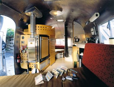 Vintage Airstream meets an architect...