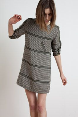 horizontal stripes (with diagonal on the pocket!): ace & jig F/W 2012
