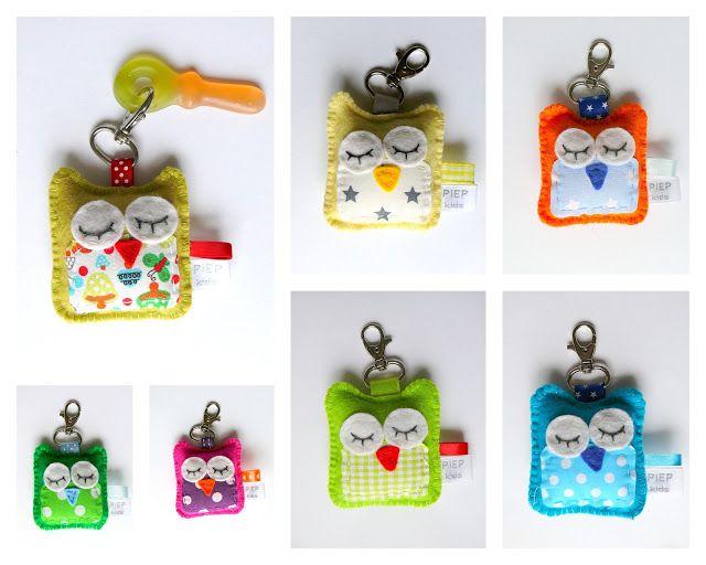 Piep kids: Joehoe uiltjes sleutelhanger / traktatie | Owls ...