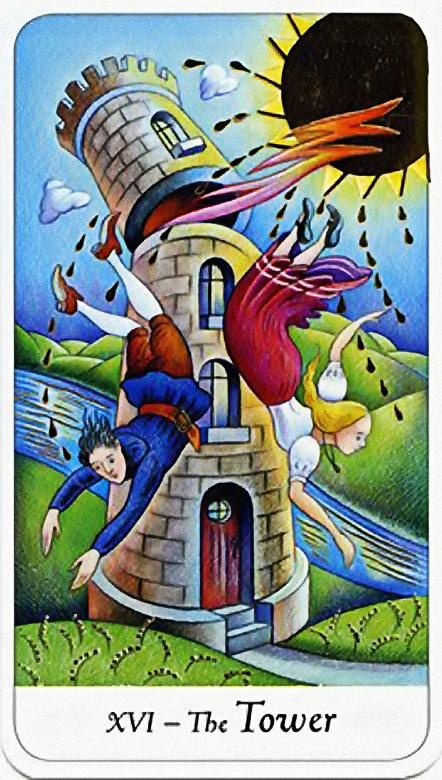 1000+ Images About The Tower / Fire (Tarot Card) On