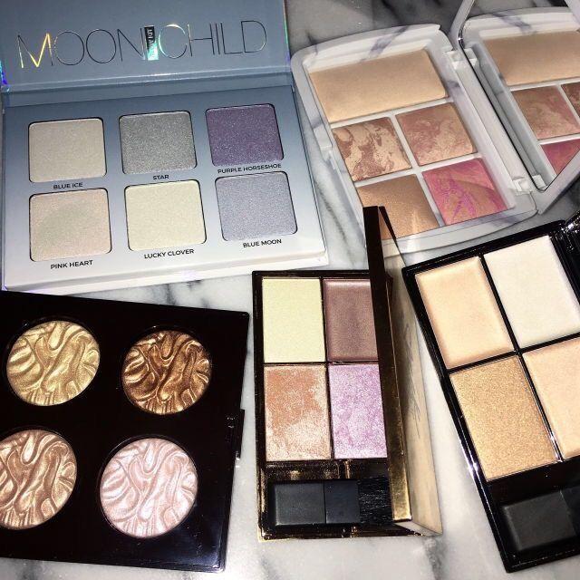 ABH Highlighter Palette - Laura Mercier Highlighter Palette - Hourglass Ambient Lighting Palette - Sleek Highlighter Palettes
