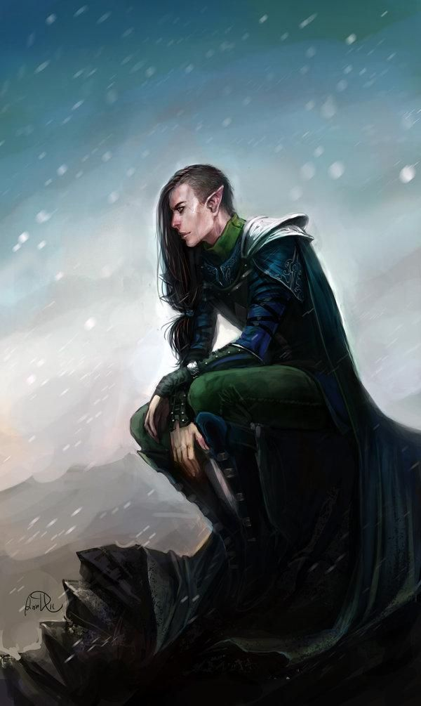 Rythe, son of Harte and Ilsenia. (Near his death).