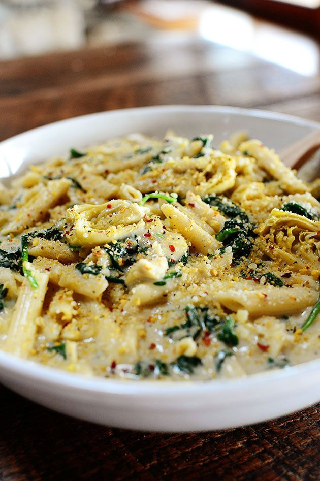 ... Pasta, Pasta Dishes, Food, The Pioneer Woman, Spinach Artichokes Pasta