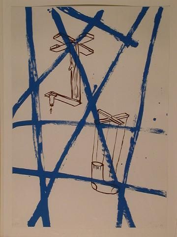 non-objective painting: Walter Swennen