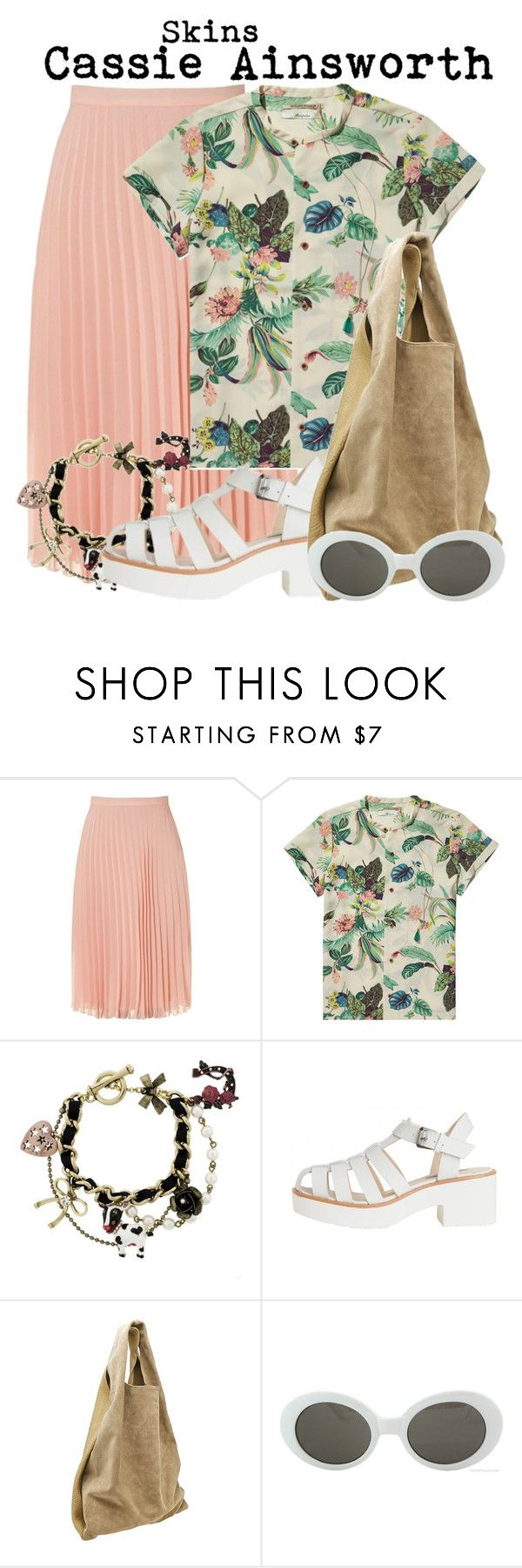 """""""Skins- Cassie Ainsworth"""" by darcy-watson ❤ liked on Polyvore featuring Jane Norman, Scotch & Soda, Betsey Johnson, Alexander Wang, Retrò, cassieainsworth and skins"""