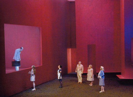 Before Daybreak. Deutsches Theater, Berlin. Scenic design by Johanna Pfau. 2000