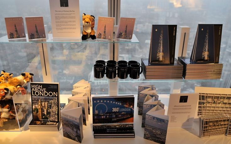 Level 68 features an exclusive boutique that enables guests to take home mementoes of their visit to The View from The Shard with bespoke designs and limited edition souvenirs.