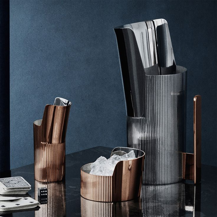 Kolekcja akcesoriów stołowych Georg Jensen Urkiola zaprojektowana przez Patricie Urquiola