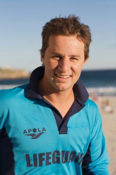 "Christopher ""Chappo"" Chapman from Bondi Rescue - Bondi Beach, New South Wales, Australia"