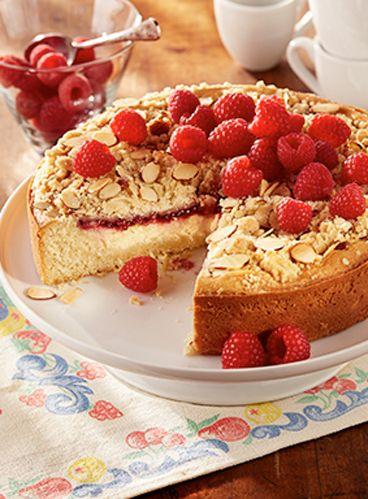 Lemon filled coffee cake recipe