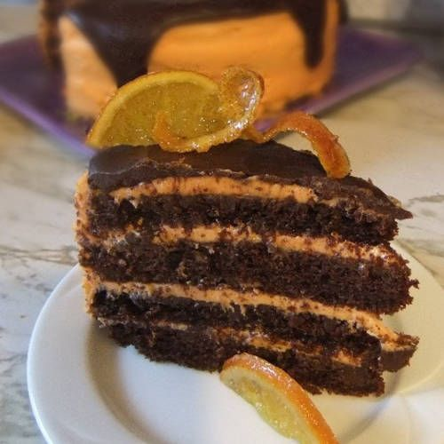 Orange Mocha Cake  vegan, plantbased, Earth Balance, Made Just Right
