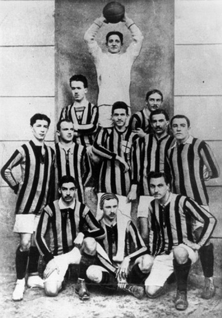 """Football Club Internazionale Milano, GANADOR DE SU PRIMER """"SCUDETT0"""" EN 1909-10"""