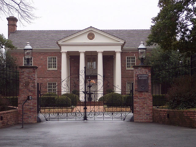 Little Rock, Arkansas (This is the Governor's Mansion.)