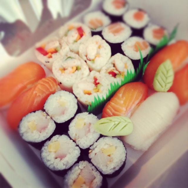 Sushi set by Miss Sushi