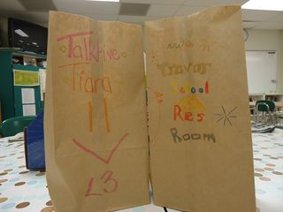 Affirmation bags every end of the quarter - Capturing Kids Hearts