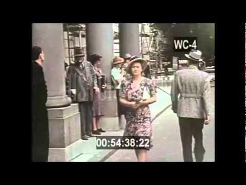 Warsaw 1938 in Color Kolorowa Warszawa 1938 unikalny film!
